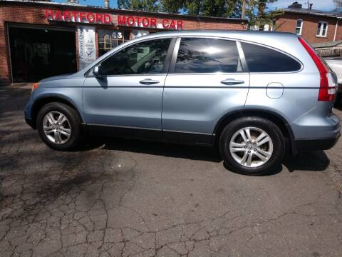 2010 Honda CR-V for sale at HARTFORD MOTOR CAR in Hartford CT
