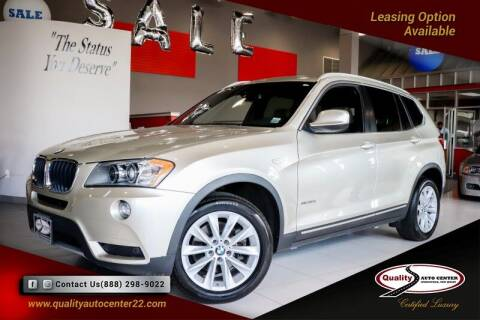 2013 BMW X3 for sale at Quality Auto Center of Springfield in Springfield NJ