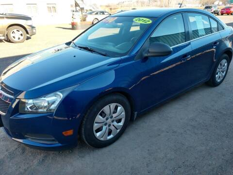 2012 Chevrolet Cruze for sale at Kull N Claude in Saint Cloud MN