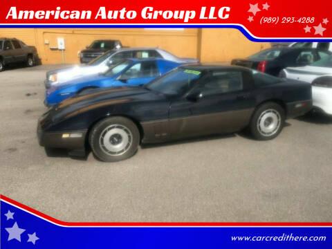 1984 Chevrolet Corvette for sale at American Auto Group LLC in Saginaw MI