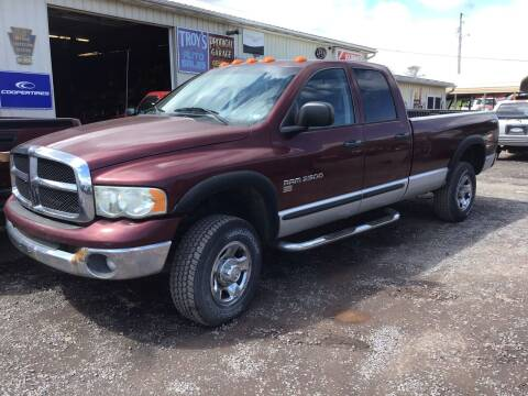 2003 Dodge Ram Pickup 2500 for sale at Troys Auto Sales in Dornsife PA