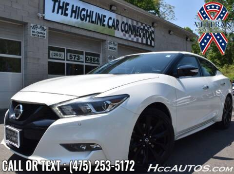 2018 Nissan Maxima for sale at The Highline Car Connection in Waterbury CT