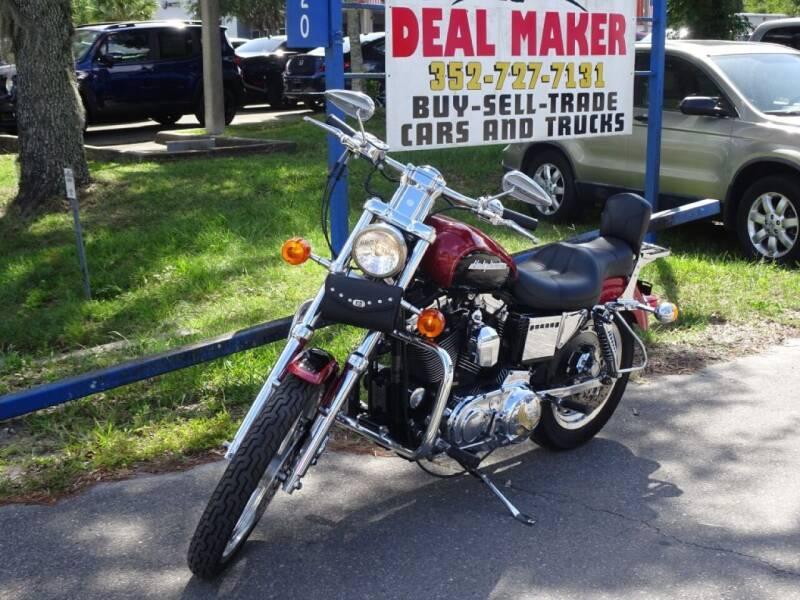 1999 HARLEY DAVIDSON SPORTSTER 1200 for sale at Deal Maker of Gainesville in Gainesville FL