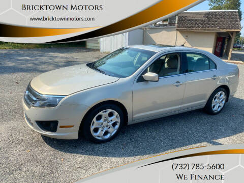 2010 Ford Fusion for sale at Bricktown Motors in Brick NJ