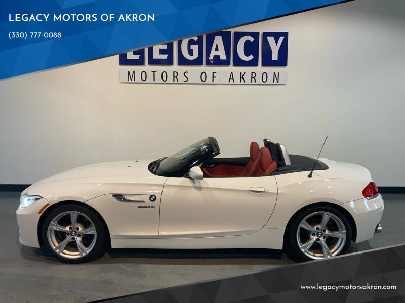 2014 BMW Z4 for sale at LEGACY MOTORS OF AKRON in Akron OH