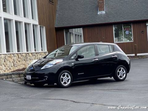 2012 Nissan LEAF for sale at Cupples Car Company in Belmont NH