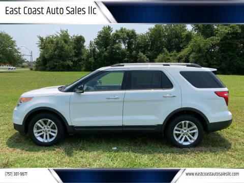 2014 Ford Explorer for sale at East Coast Auto Sales llc in Virginia Beach VA