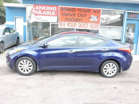 2013 Hyundai Elantra for sale at Drive Auto Sales & Service, LLC. in North Charleston SC
