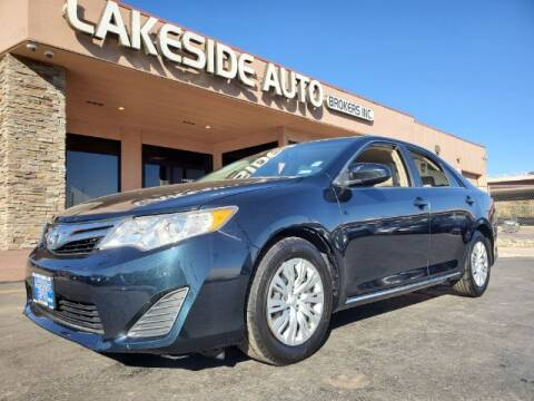 2014 Toyota Camry for sale at Lakeside Auto Brokers Inc. in Colorado Springs CO
