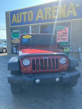 2011 Jeep Wrangler Unlimited for sale at Auto Arena in Fairfield OH