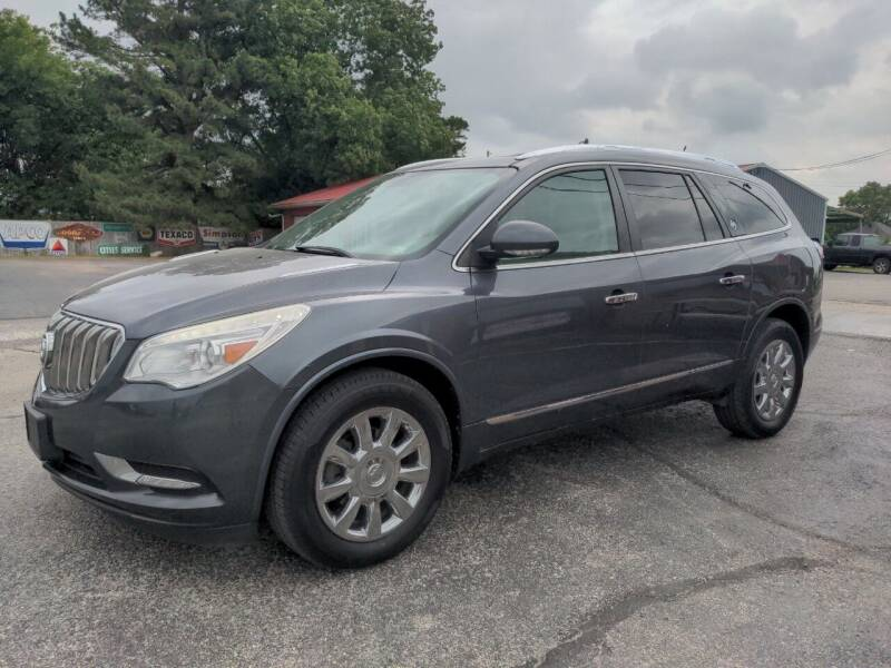 2013 Buick Enclave for sale at Towell & Sons Auto Sales in Manila AR