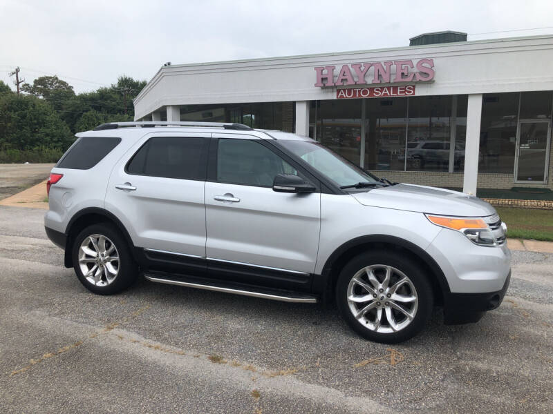 2013 Ford Explorer for sale at Haynes Auto Sales Inc in Anderson SC