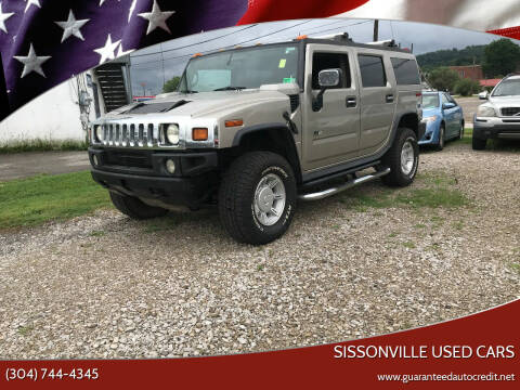 2004 HUMMER H2 for sale at Sissonville Used Cars in Charleston WV