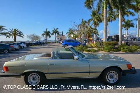 1985 Mercedes-Benz 380-Class for sale at Top Classic Cars LLC in Fort Myers FL