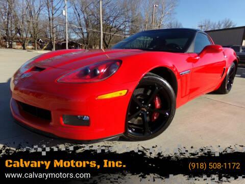 2013 Chevrolet Corvette for sale at Calvary Motors, Inc. in Bixby OK