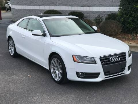 2011 Audi A5 for sale at Weaver Motorsports Inc in Cary NC