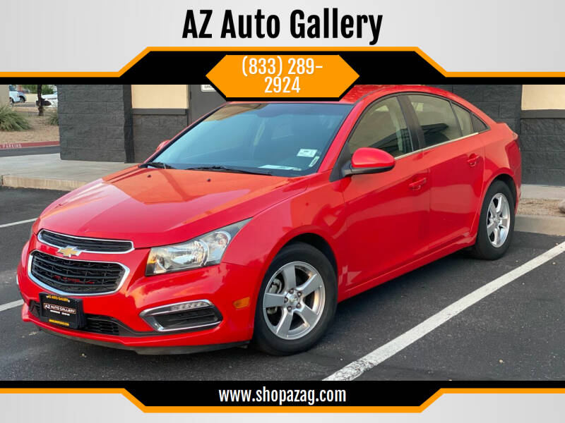 2016 Chevrolet Cruze Limited for sale at AZ Auto Gallery in Mesa AZ