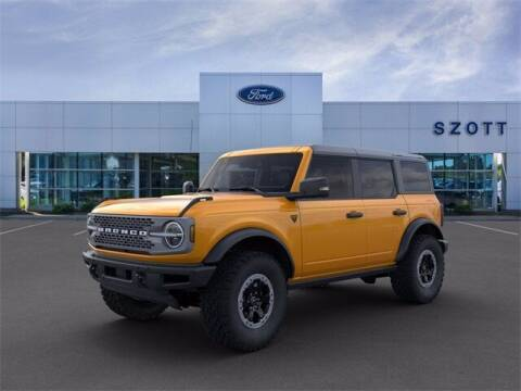 2021 Ford Bronco for sale at Szott Ford in Holly MI