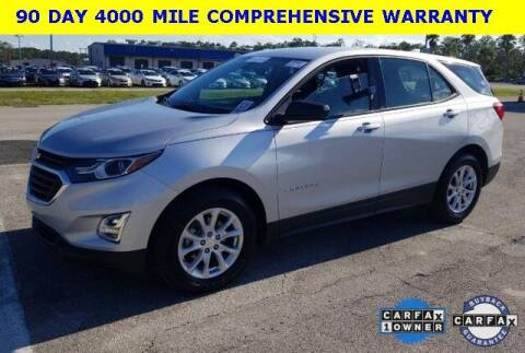 2019 Chevrolet Equinox for sale at PHIL SMITH AUTOMOTIVE GROUP - Tallahassee Ford Lincoln in Tallahassee FL