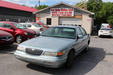 1996 Mercury Grand Marquis for sale at SAI Auto Sales - Used Cars in Johnson City TN