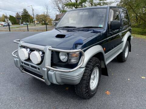 1995 Mitsubishi Pajero for sale at M4 Motorsports in Kutztown PA