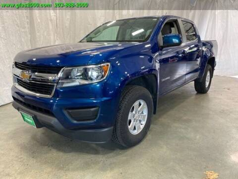 2019 Chevrolet Colorado for sale at Green Light Auto Sales LLC in Bethany CT
