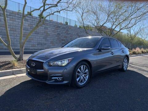 2015 Infiniti Q50 for sale at AUTO HOUSE TEMPE in Tempe AZ