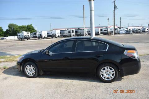 2012 Nissan Altima for sale at WF AUTOMALL in Wichita Falls TX