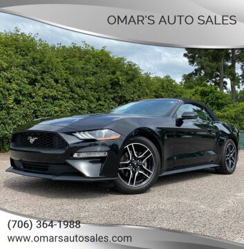 2019 Ford Mustang for sale at Omar's Auto Sales in Martinez GA
