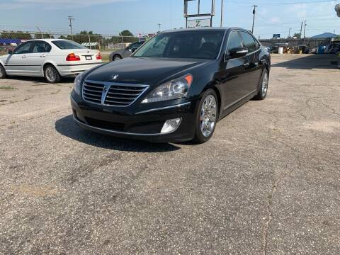 2012 Hyundai Equus for sale at Z Auto Sales Inc. in Rocky Mount NC