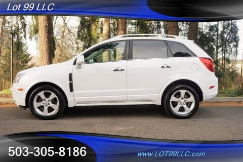 2014 Chevrolet Captiva Sport for sale at LOT 99 LLC in Milwaukie OR