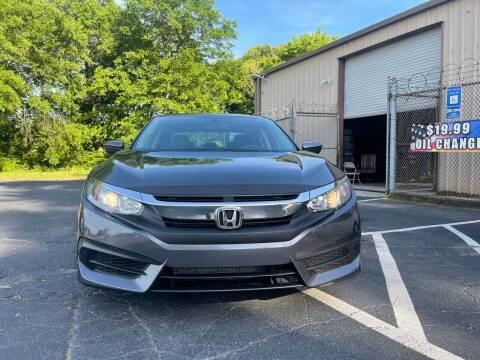 2016 Honda Civic for sale at BIOS AUTO Used Car Sales in Atlanta GA