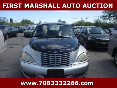 2004 Chrysler PT Cruiser for sale at First Marshall Auto Auction in Harvey IL