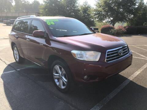 2008 Toyota Highlander for sale at CU Carfinders in Norcross GA