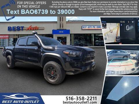 2019 Toyota Tacoma for sale at Best Auto Outlet in Floral Park NY