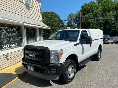 2011 Ford F-250 Super Duty for sale at Real Deal Auto Sales in Auburn ME