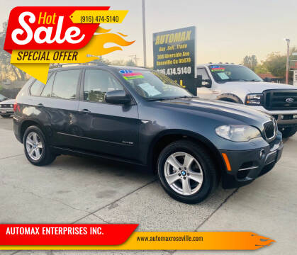 2011 BMW X5 for sale at AUTOMAX ENTERPRISES INC. in Roseville CA