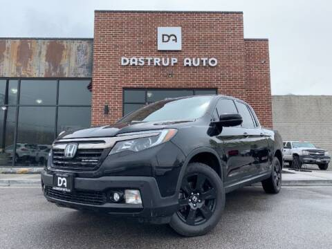 2018 Honda Ridgeline for sale at Dastrup Auto in Lindon UT