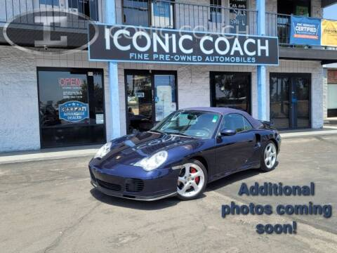 2004 Porsche 911 for sale at Iconic Coach in San Diego CA