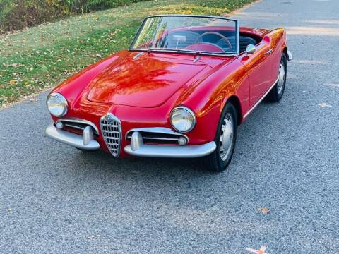 1958 Alfa Romeo Giulietta Spider for sale at Milford Automall Sales and Service in Bellingham MA