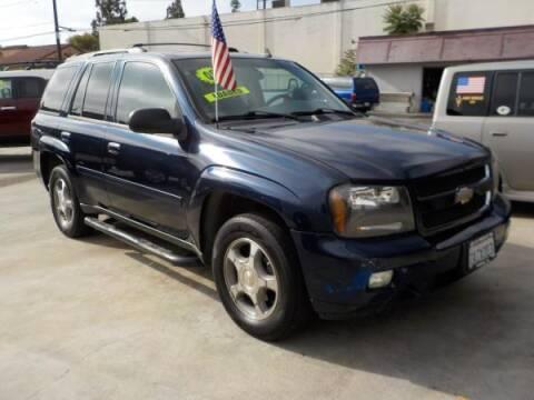 2008 Chevrolet TrailBlazer for sale at Bell's Auto Sales in Corona CA
