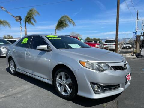 2012 Toyota Camry for sale at Esquivel Auto Depot in Rialto CA