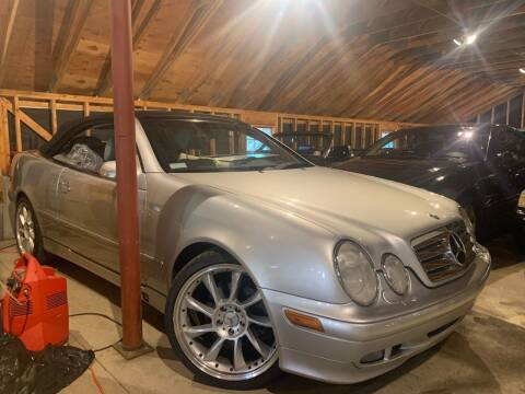 2003 Mercedes-Benz CLK for sale at MEE Enterprises Inc in Milford MA