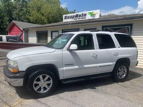 2002 Chevrolet Tahoe for sale at Snap Auto in Morganton NC