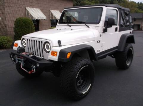 2006 Jeep Wrangler for sale at Depot Auto Sales Inc in Palmer MA