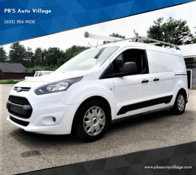 2015 Ford Transit Connect Cargo for sale at PB'S Auto Village in Hampton Falls NH