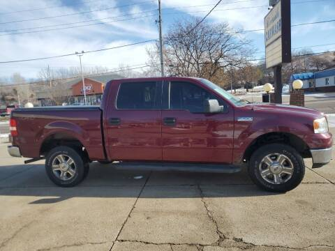 2005 Ford F-150 for sale at RIVERSIDE AUTO SALES in Sioux City IA