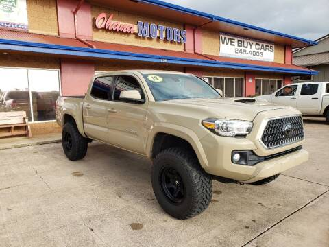 2018 Toyota Tacoma for sale at Ohana Motors in Lihue HI