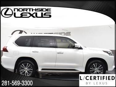 2019 Lexus LX 570 for sale at LEXUS in Houston TX