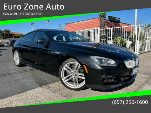2015 BMW 6 Series for sale at Euro Zone Auto in Stanton CA